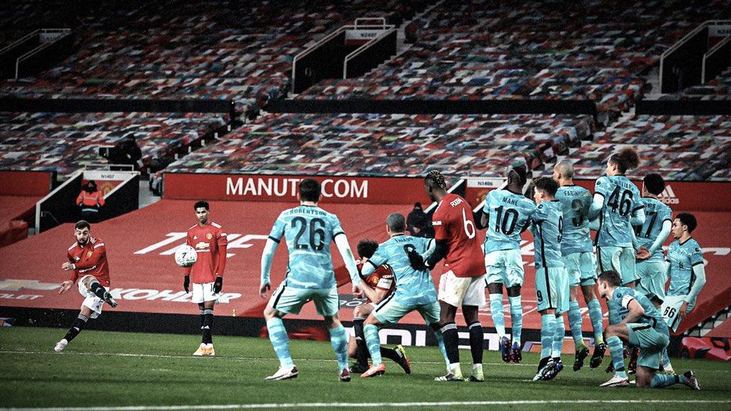 الطريقة الامثل لحسم القمة.❤️🔥  #MUFC