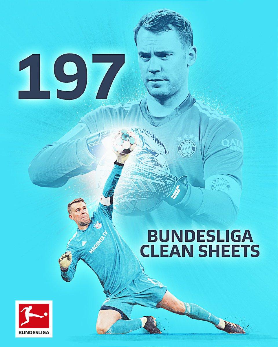Replying to @Bundesliga_EN: A new #Bundesliga record for @Manuel_Neuer 🧤🥇