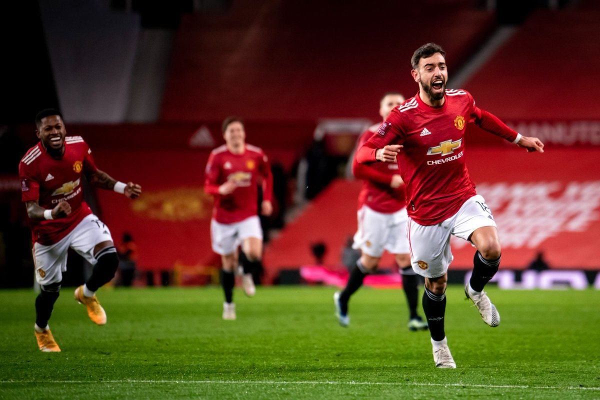 Winning against your perennial rival in a cup match is so sweet. United is on a run right now and Ole has all it takes to bring back the silverware where it belongs. FT : MUN 3-2 LIV  #MUFC 🔴⚪⚫ #MUNLIV ⚽️ #EmiratesFACup 🏆