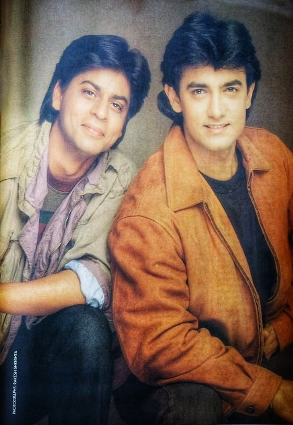 I wish they had worked together 😔 @aamir_khan n @iamsrk are a treat to watch as all these rivalry stories have been there in all these years. #SRK is charming n witty while #AamirKhan is intellectual n composed and both of them make a #deadly combination ❤️🔥🥰🤩😍 luv 2 see you