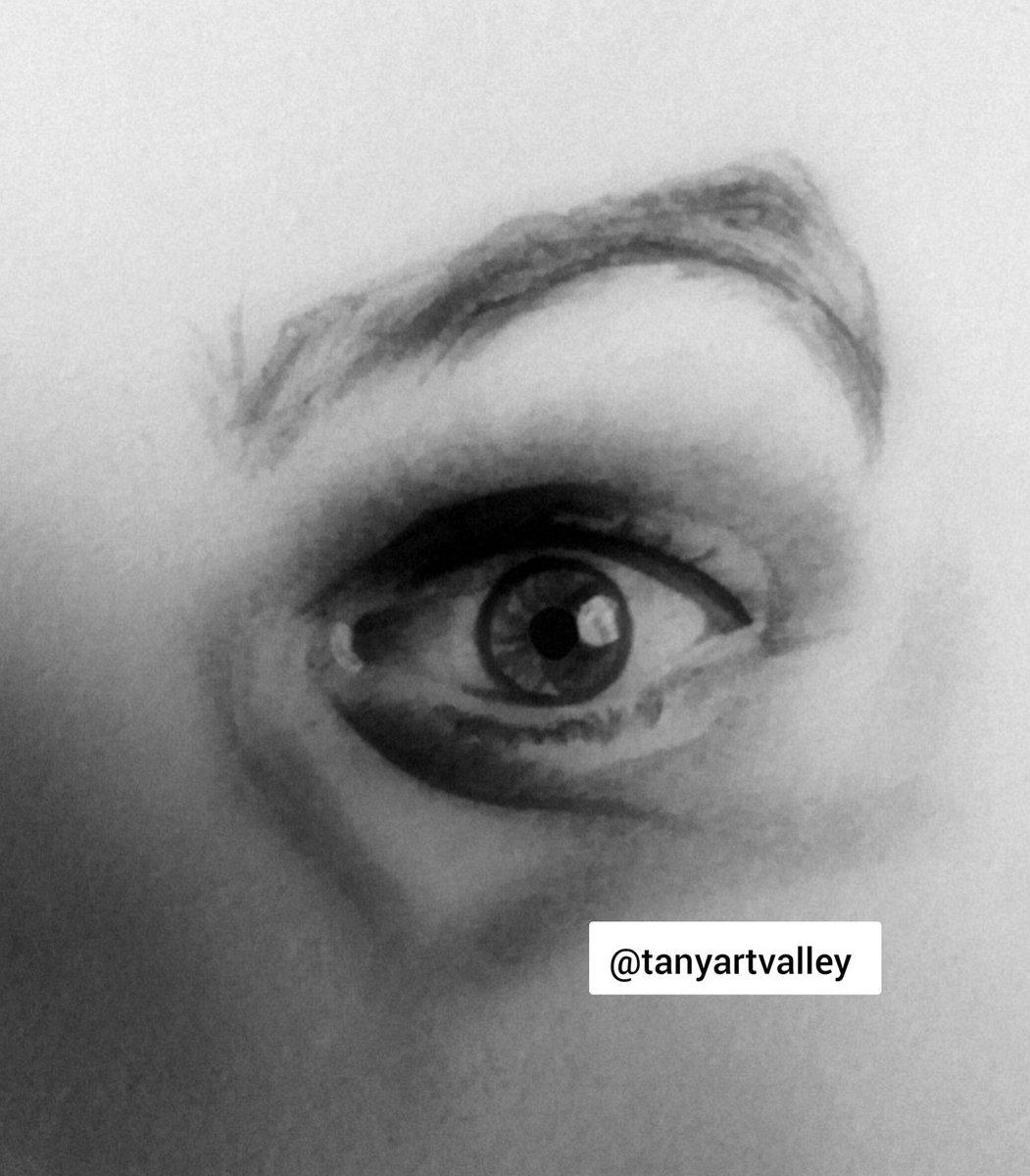 'Surprise'  Sixth eye in the series of six eyes depicting six different emotions.  #eyes #eyesart #ArtistOnTwitter #artwork #artists #art #shading #drawingoftheday #drawingart #drawing #Emotions