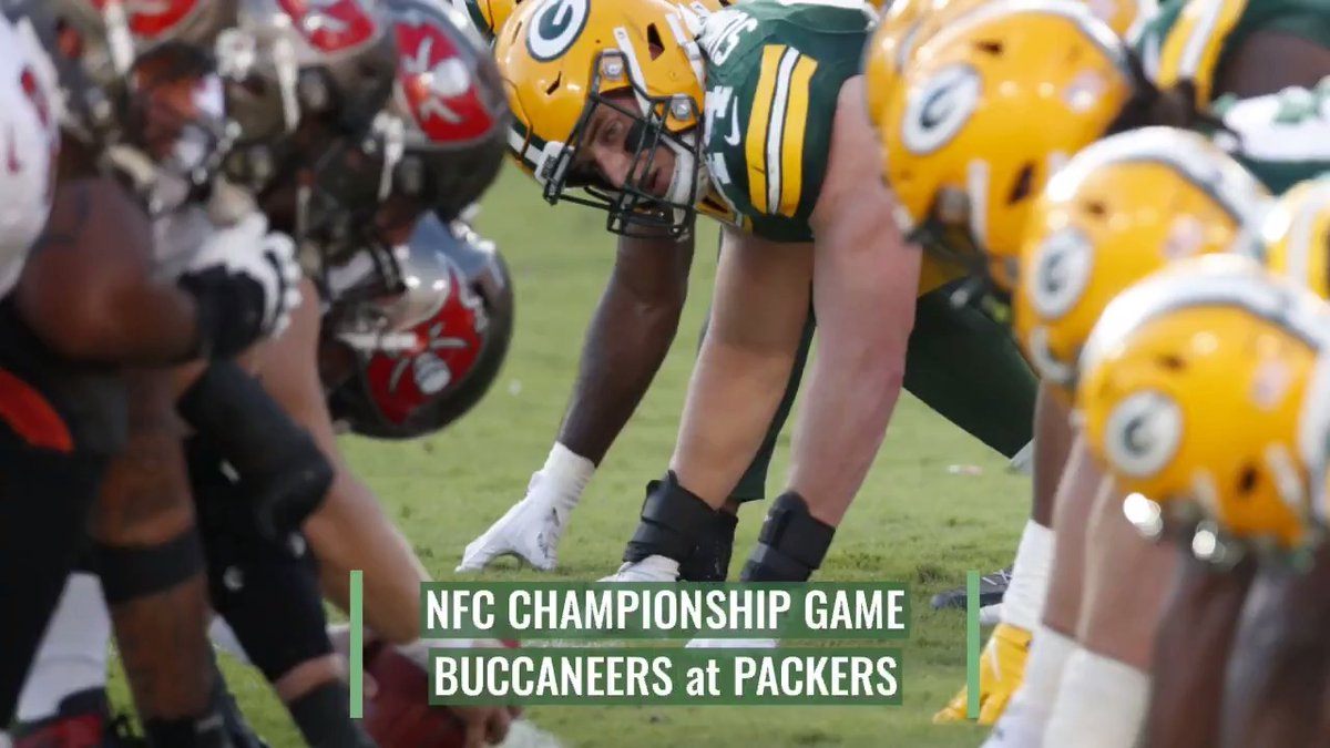 When Aaron Rodgers' Green Bay Packers host Tom Brady's Tampa Bay Buccaneers in the NFC championship game today, it will be just the fourth time they've squared off as starting quarterbacks, and the first in the playoffs.  @stevemegargee >>
