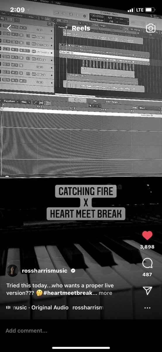 Ross, I want you to know that Catching Fire x Heart Meet Break is still stuck in my head and i cannot stop singing it 🖐🏼