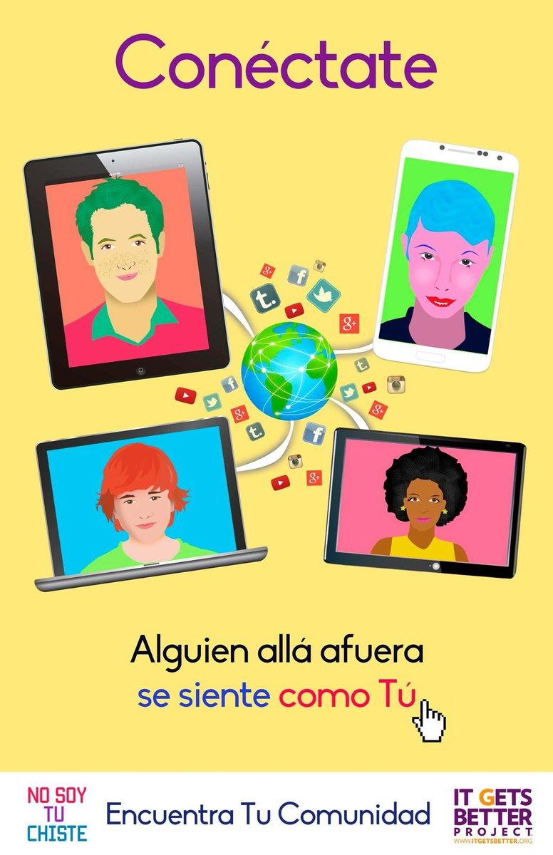 🌎 #TodoMejora: Haciendo comunidad en línea también ayuda a compartir esperanza a quienes más la necesitan. #10YearsBetter #OrgulloSiempre   🔗:  🎨: @Arzola_d.