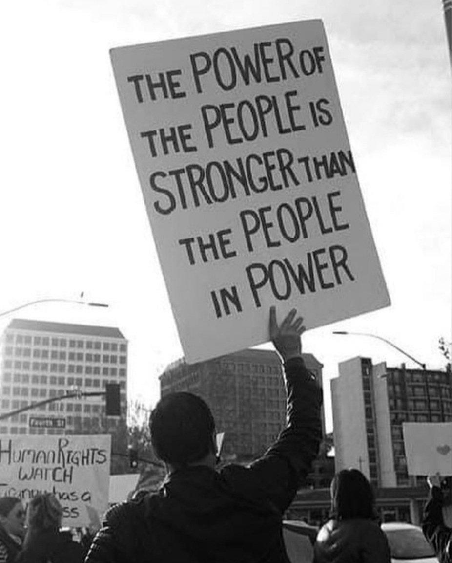 #PowerOfThePeople #2021challenge #riseabovehate 💕