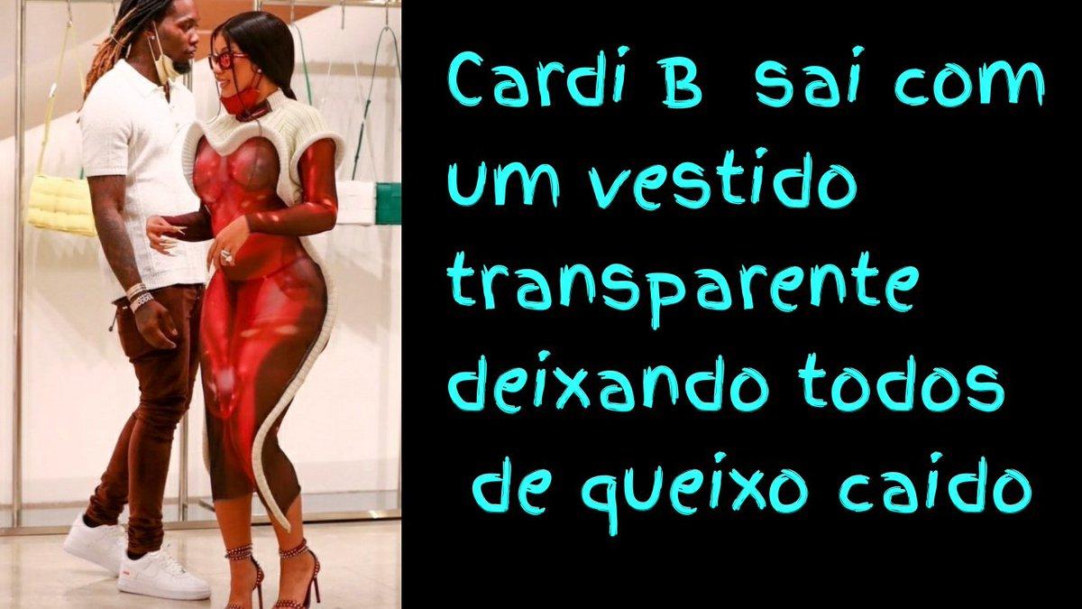 IMPRESIONANTE. Cardi B fue de shopping y mostró mucho más que sus curvas con un vestido transparente.  Mira el Video👉 https://t.co/mKd6VNqzqz  #CardiB #curvas #vestido #Chisme #transparente #modelo #musica #lovelylouies #MAUROENAMERICA #FelizDomingo https://t.co/c7JrWJoWKv