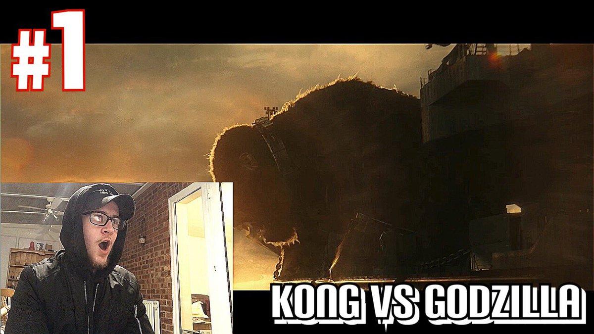 Kong Vs Godzilla Trailer Reaction   Ultimate Showdown #2020  via @YouTube KING KONG VS GODZILLA TRAILER REACTION!! #kong #Godzilla #GodzillaVsKong #Skull #movie #movies #subscribe