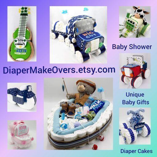 #epiconetsy #babyshower #diapercake #momblogger #promotingwomen #craftpromote #handmade #itsbetterhandmade #babyboy #babygirl #handmadegifts