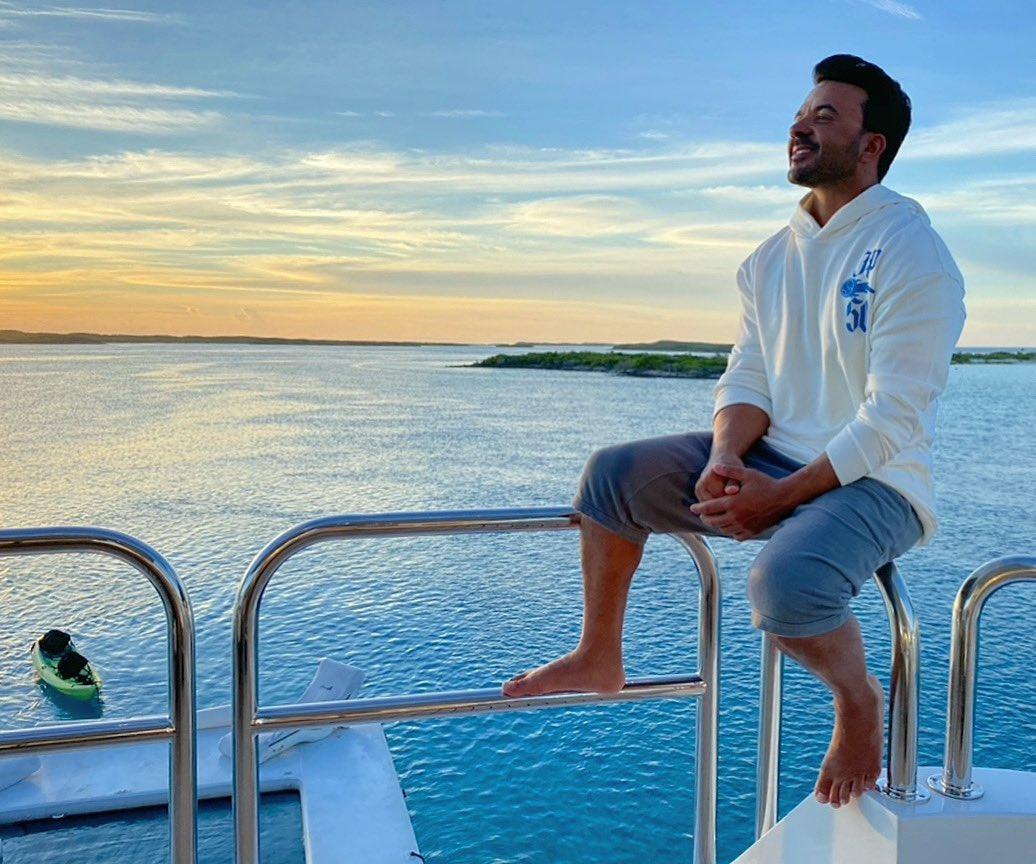 En el mar, la vida es más sabrosa... 🌊 🌅