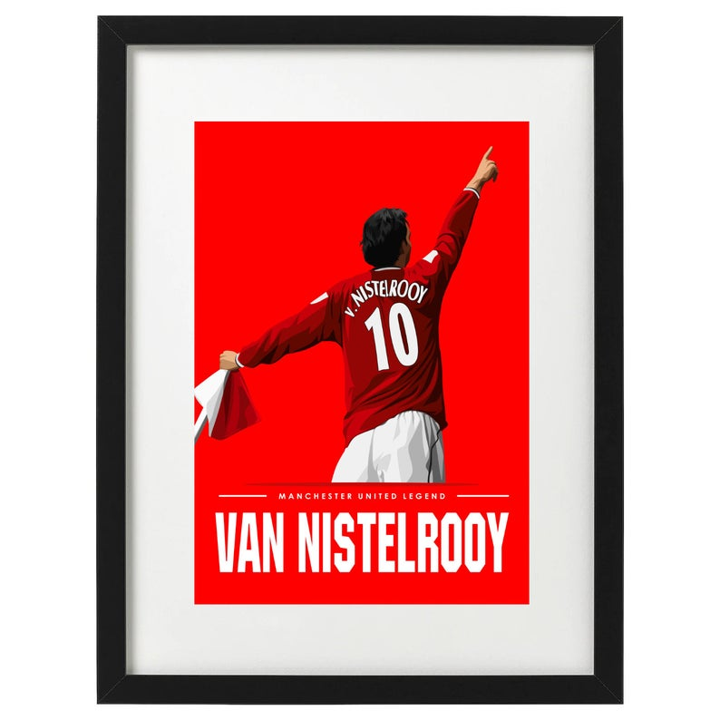 Manchester United art prints available now. Free UK delivery. Link in bio 👆 #footballart #etsy #etsyshop #ruudvannistelrooy #CristianoRonaldo #Ronaldo #cr7 #MUNLIV #ManchesterUnited #MUFC_FAMILY #vannistelrooy