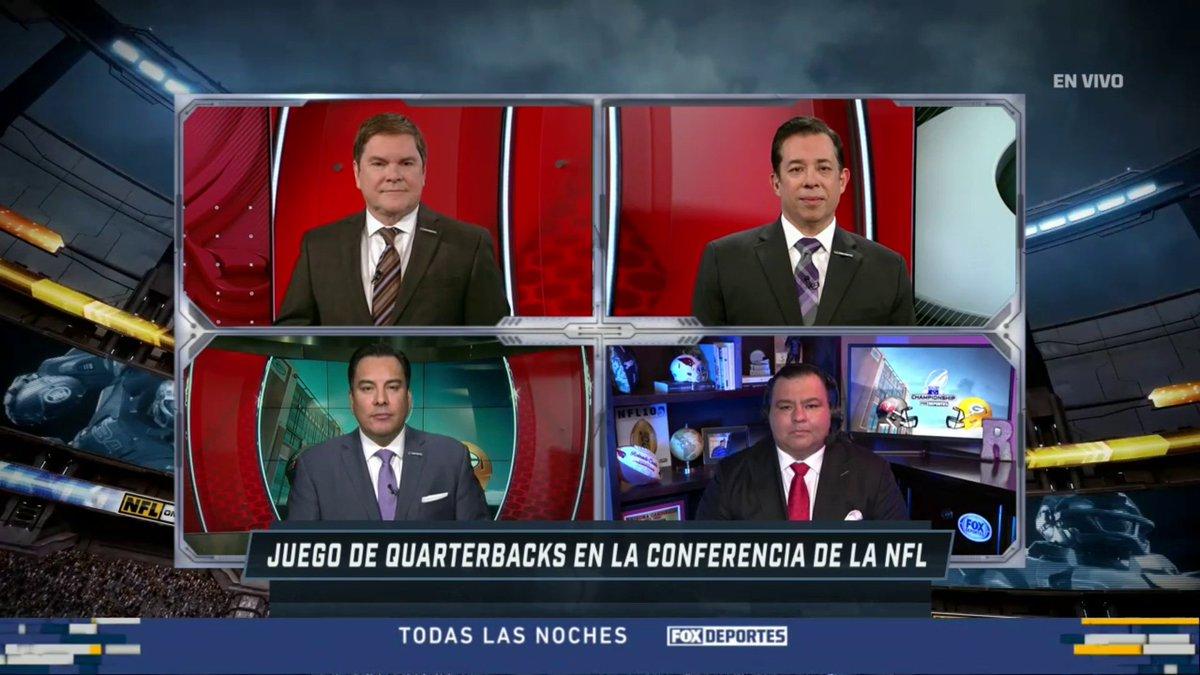 ¿Qué podemos esperar del primer enfrentamiento entre Tom Brady y Aaron Rodgers en playoffs? ¡Un Super Bowl adelantado por @FOXDeportes! #NFCChampionship #NFLeros #NFLenFD @RolandoRCantu @AdrianGarciaMqz @MottaJaime @JessiLosadaTV