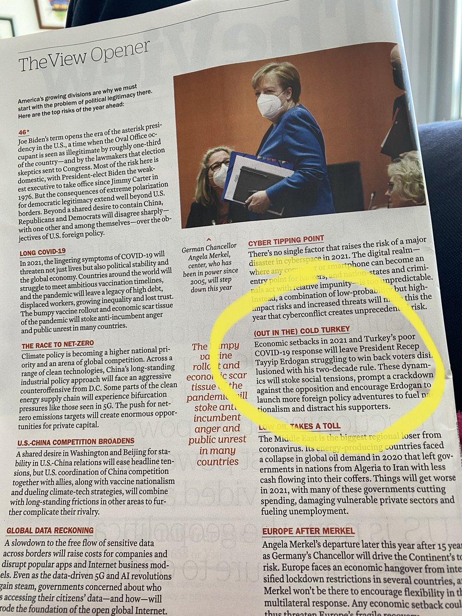 Time dergisi 18/25 Ocak sayısı...