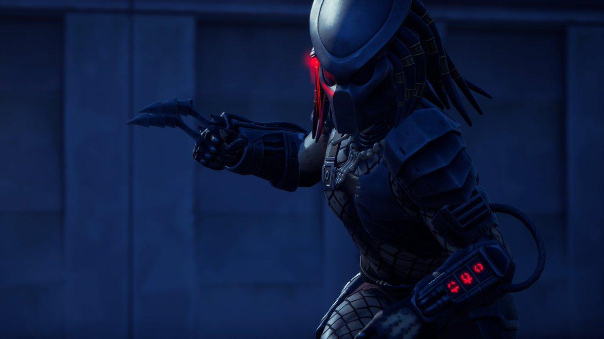 The Predator . Tap to enlarge . Fortnite Battle Royale . @FortniteGame @UnrealEngine @EpicGames  . #Fortnite #epicgames #FortniteFoto #Fortography  #UnrealEngine #Predator