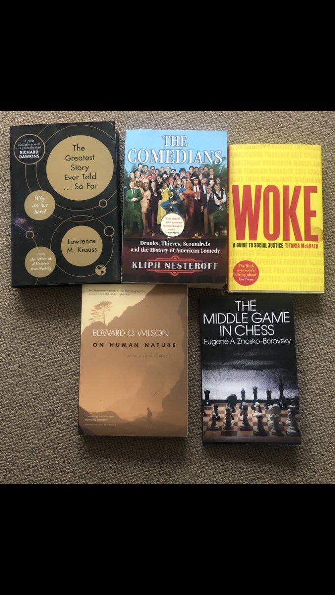 The #Last5Books I read