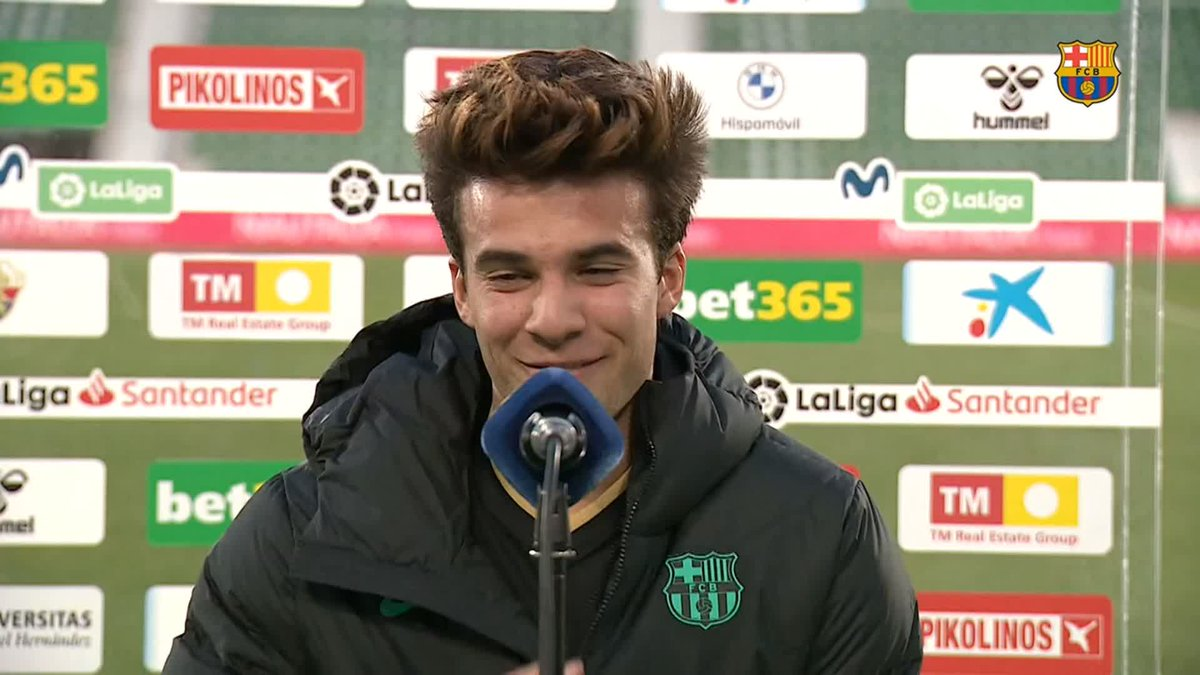 ❝I think my last header was in the U-16's ...❞ — @RiquiPuig