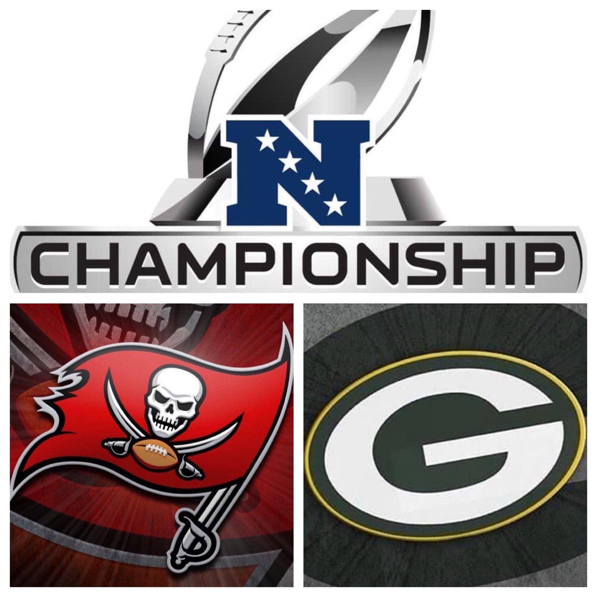 #IESRSN The 2021 #NFCChampionship is underway! #NFL #NFLPlayoffs #ChampionshipSunday #TBvsGB #GoBucs #GoPackGo