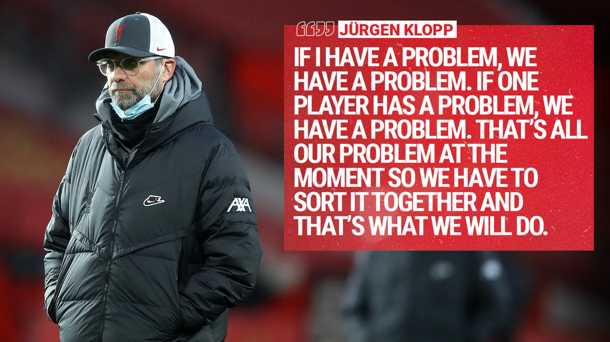 Jürgen on the Reds 👊🔴
