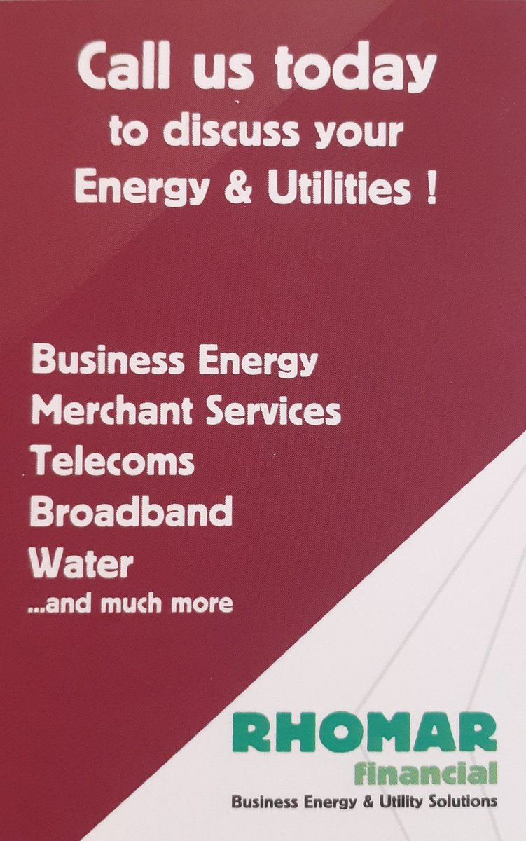 Evening #brumhour I help #SMEs save money on their commercial energy & utilities. Send a bill over for guaranteed savings! Via email, DM or WhatsApp is fine:) #pubs #hotels #clubs #golfclubs #farms #carehomes #funeralhomes #restaurants #cafes #factories #churches