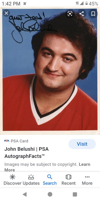 Happy birthday to actor John Belushi!!!