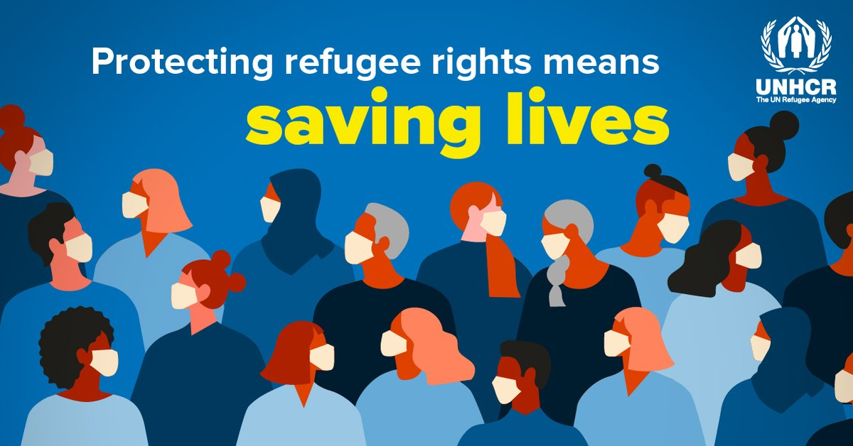 No one is safe until everyone is safe - including refugees.
