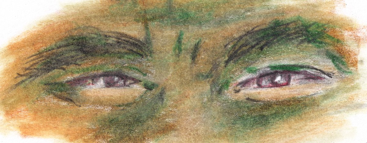 And again.  Learning to draw, day 198. Colored pencil.  #art #coloredpencils #drawing #practicedrawing #portrait #eyes #face #practice #study