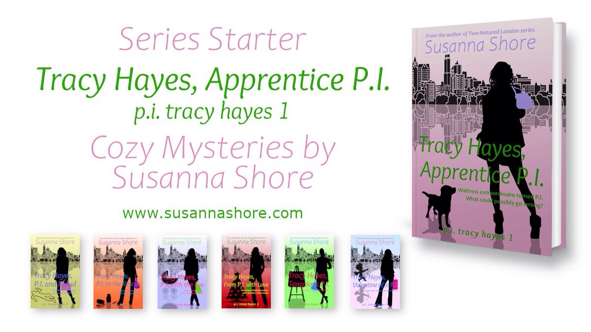 Start a fun and fast-paced mystery series this weekend with Tracy Hayes, Apprentice P.I. Sample chapters and purchase links at   #CozyMystery #CrimeFiction