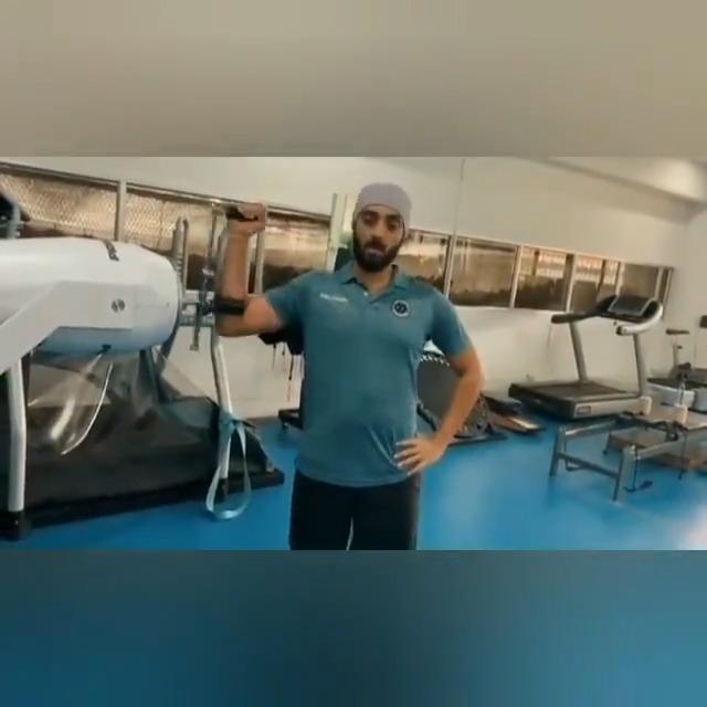 "#MondayMotivation feat. @chakaravarthy29 🔥 at the NCA, as he preps himself for #IPL2021  ""Sports do not build character, they reveal it"" 💪  #KKR #VarunChakaravarthy #Cricket #Motivation"