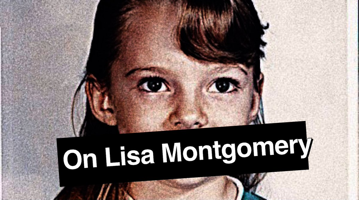 On Lisa Montgomery : Part 1 of 2   YouTube — https://t.co/TRntMOM7rM via @YouTube #LisaMontgomery #DEATHROW https://t.co/PA0pdzZxvh