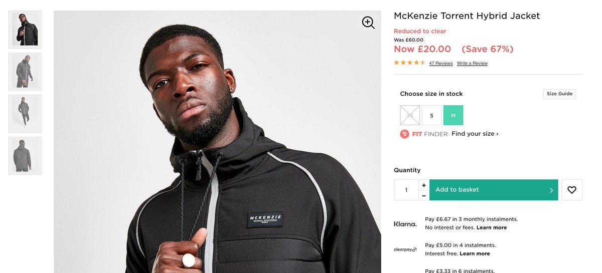 McKenzie Jacket  WAS: £60 SALE PRICE: £20 (67% OFF!!!)   Buy here >>  #ad