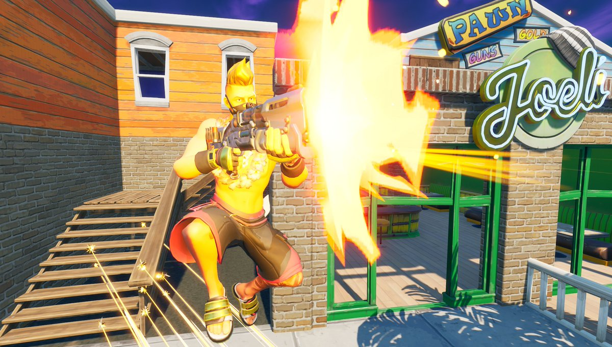 Things are getting a bit dangerous... Wonder if this has anything to do with that transmission earlier...  #FortniteZeroPoint #Fortnite #FortniteSeason5 #Fortography #Gametography #Drift