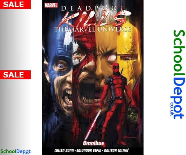 #student  Bunn, Cullen Deadpool Kills The Marvel Universe Omnibus 9781846539879 #DeadpoolKillsTheMarvelUniverse #Deadpool_Kills_The_Marvel_Universe #student #review