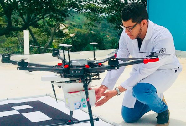 Learn how you can deploy medical delivery #drones in #publichealth in this online course:  #TechForGood