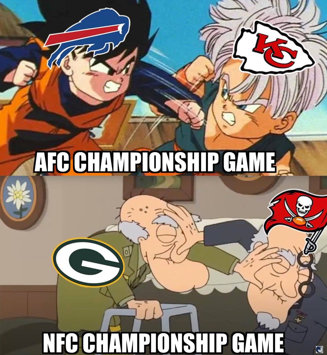 CHAMPIONSHIP SUNDAY! #NFLPlayoffs #GBvsTB #KCvsBUF #SuperBowl #NFL #Football