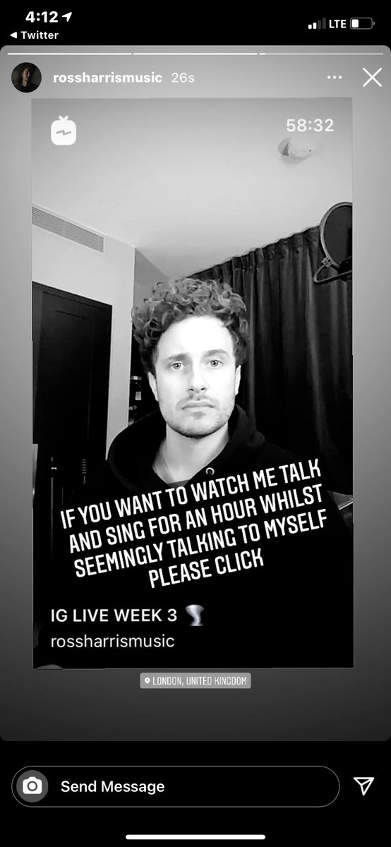 📲| Ross posted this to his story reminding everyone that you can rewatch the live!!