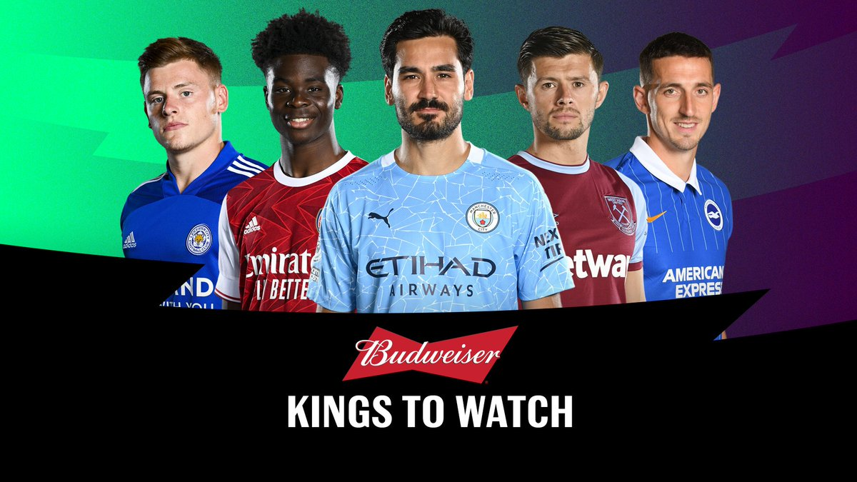 Introducing the GW20 @budfootball 𝐊𝐢𝐧𝐠𝐬 𝐭𝐨 𝐖𝐚𝐭𝐜𝐡 👑  5️⃣ players 𝘛𝘩𝘦 𝘚𝘤𝘰𝘶𝘵 is backing to deliver big points ➡️