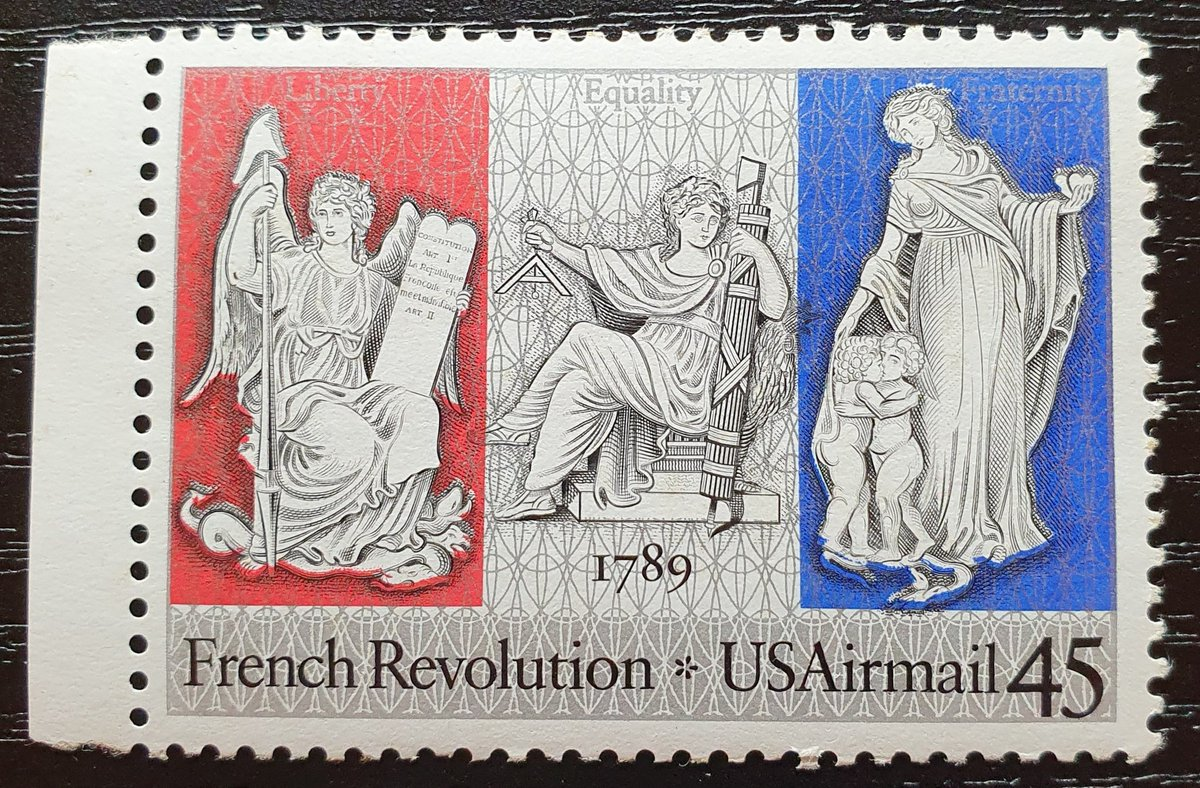 USA Stamp Collection. 1989, French Revolution Bicentennial; Airmail.  #stampsphilately #stamp #timbre #filatelia #филателия #邮票 #切手 #philately #collecting #stampcollecting