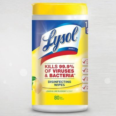 Lysol Disinfecting Wipes, Lemon & Lime Blossom, 80ct   On sale starting at $3.68    #ad #lysol #wipes