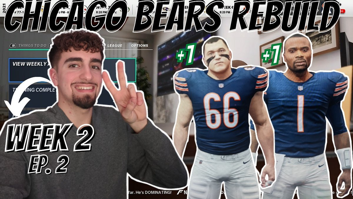 Video is now live...Week 2 EP. 2 of the Chicago Bears Rebuild!   #NFCChampionship #ChampionshipSunday #NFLPlayoffs #NFCChampionshipGame #NFL #SuperBowl