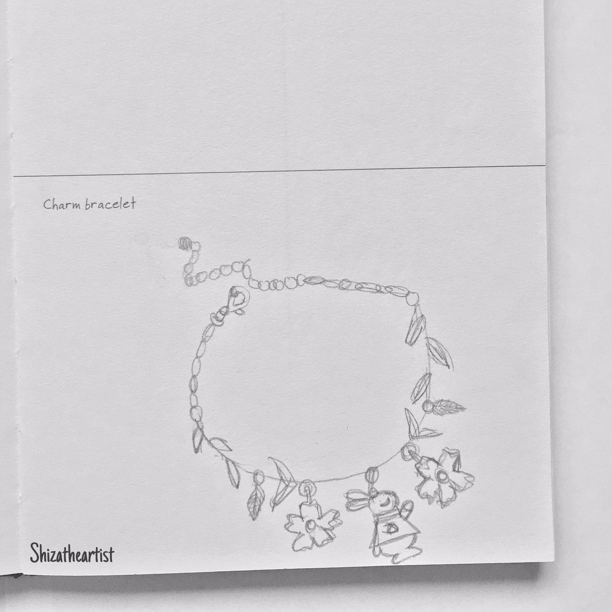 "A quick work in progress of the ""charm bracelet"" prompt. * * * #dndartists #InspirationalQuotes #inspiration #PositiveVibes #success #Artist #ArtistOnTwitter #drawing #sketch #art #artwork #smallbusiness #illustration"