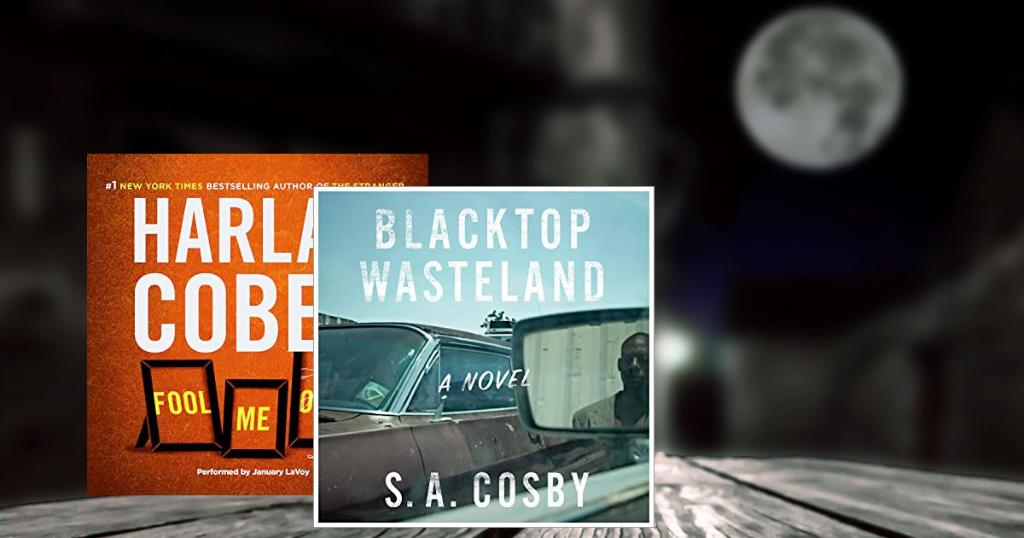 """The best mysteries to try on audio including @HarlanCoben's """"Fool Me Once"""" and @blacklionking73 's """"Blacktop Wasteland"""":"""