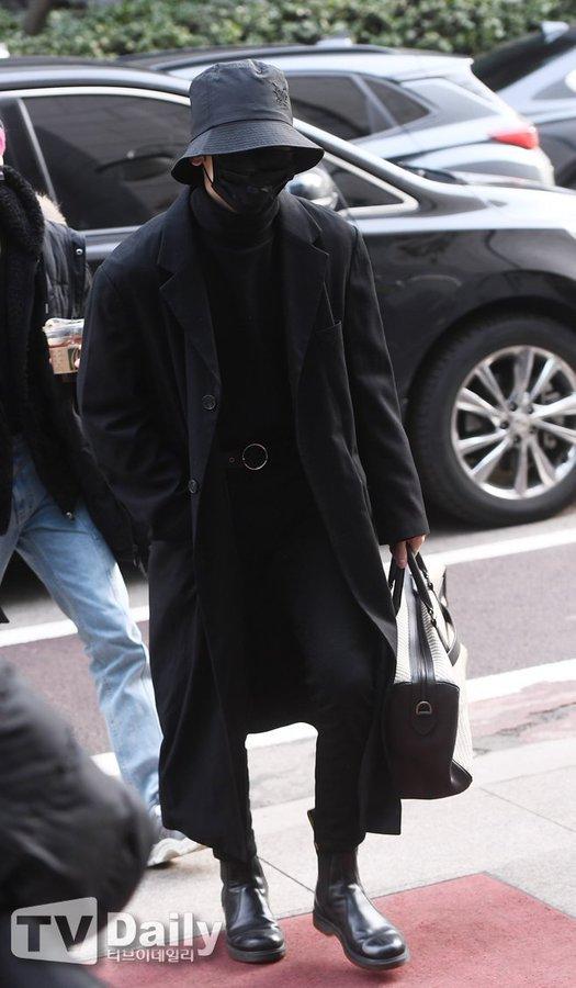 [📢] 210125 ATEEZ's Yeosang attending Immortal Songs recording  cr: TV Daily  YEOSANG BLACK HAIR  @ATEEZofficial #ATEEZ #에이티즈 #エイティーズ