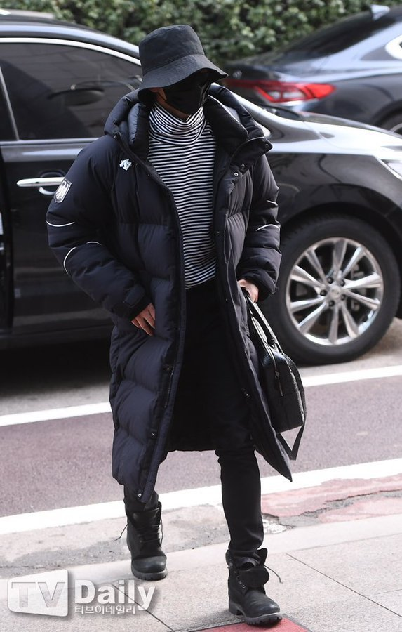 [📢] 210125 ATEEZ's Seonghwa attending Immortal Songs recording  cr: TV Daily  @ATEEZofficial #ATEEZ #에이티즈 #エイティーズ