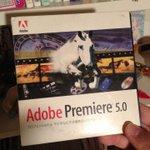 Image for the Tweet beginning: 懐かしの。1998年とか99年とかかな。買ったの。この後すぐにFinalCutに移行したので実質2年くらいかな使ったのは。PremiereもFinalCutも実は最初の開発者は同じ人なんだよ。 #映像制作 #映像編集 #動画編集 #AdobePremierePro