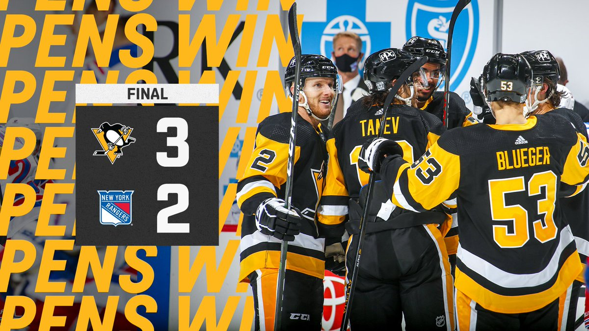 THE COMEBACK KIDS DO IT AGAIN!  The Penguins have won four straight at home!