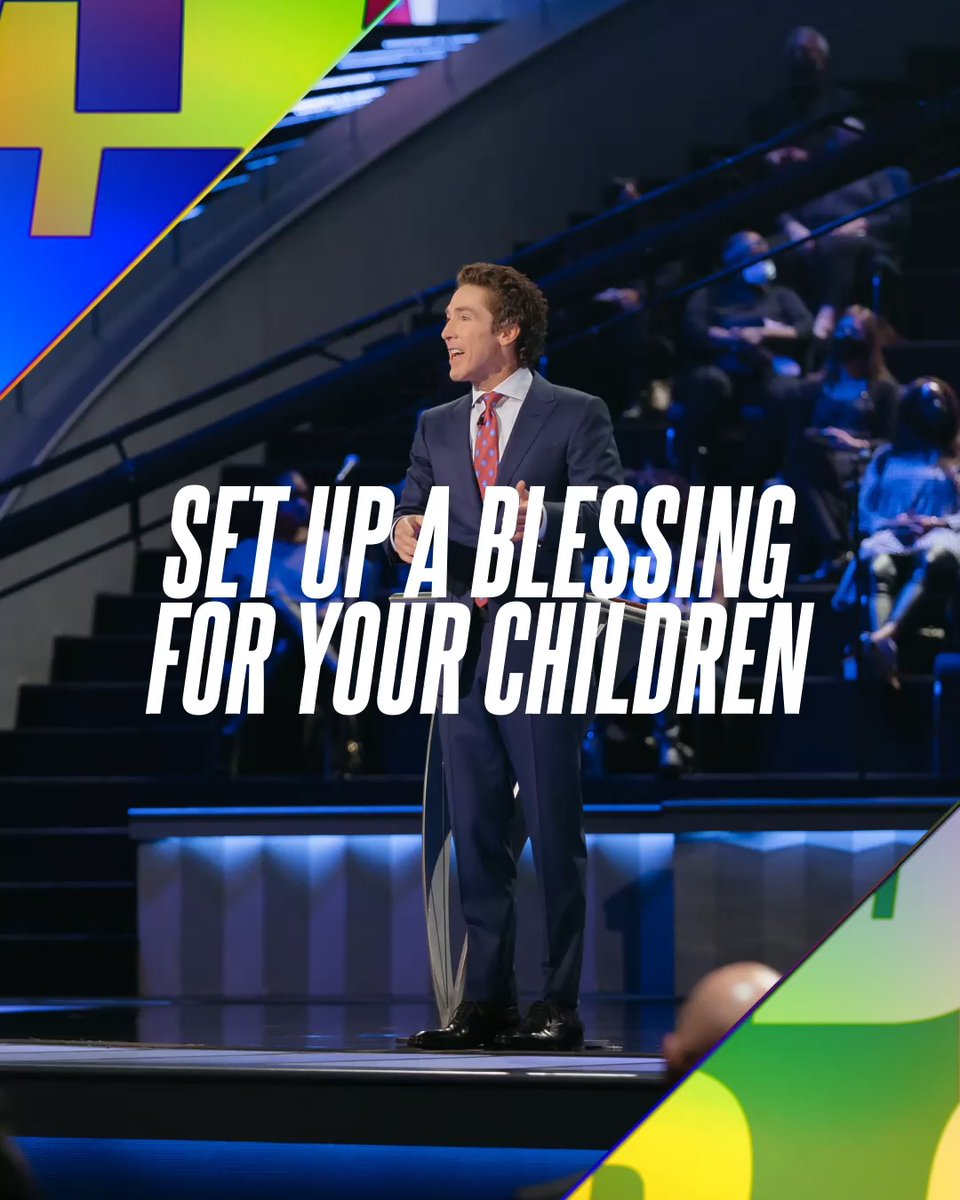 "It can start with you. You can be the one to set your family on a new course. You can start a blessing. You can start freedom; you can start abundance; you can start victory.  Tune into Joel's new message today! ""Start a Blessing"""
