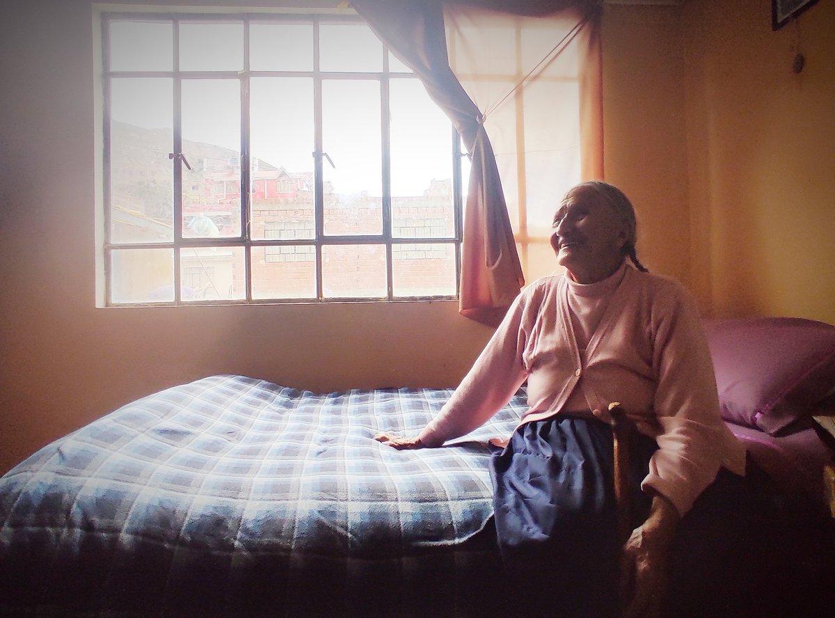 Simplemente mi alegría #abuela #Bolivia #fotografia #Feliz2021