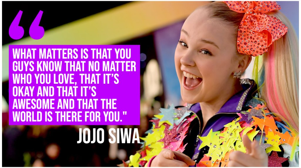"After appearing to publicly come out as a member of the LGBTQ community, teen superstar JoJo Siwa told fans in an Instagram Live conversation, ""no matter who you love, that it's ok."" https://t.co/UxaN0hrxUw"