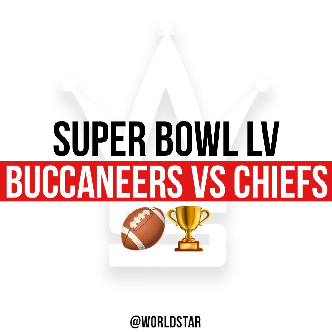 #SuperBowlLV is set! #TampaBayBuccaneers vs #KansasCityChiefs! Who do y'all think is going to win it all?! 👇🏈🏆 @Buccaneers @Chiefs