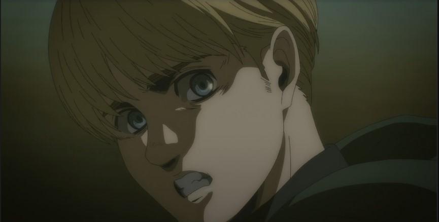 INHAAAAAAAAAAAAAA COISA LINDA. #Armin #AttackOnTitan