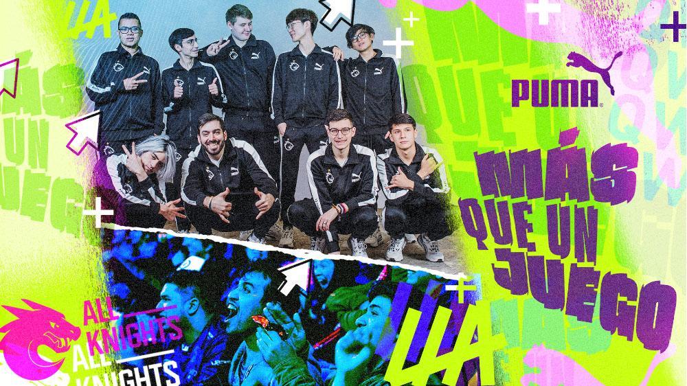 PUMA se une a League of Legends Latinoamérica y entra con todo en los #esports! La marca alemana firma un convenio con Riot Games para detonar juntos la escena de los esports en toda Latinoamérica a través de LOL.